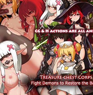 Treasure Chest Corps - Fight Demons to Restore the Barrier
